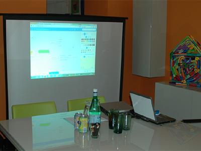 Client : APESND <br />Technique : travail en direct sur carte projetée, puis partagée aux participants (plateforme Mindmeister gratuite pour 3 cartes).